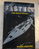 FASTNET One Man's Voyage By Roger Vaughan Hc First Ed