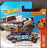 Hot Wheels 2017 Flames 55 Chevy Bel Air Gasser blau