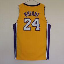 68060e88d Kobe Bryant Los Angeles Lakers Jersey Size 52 Gold Adidas NBA  24 LA