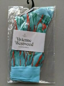 Vivienne Westwood Cotton Crew Socks - Unisex - embroidered logo on the ankle