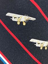 EUC Vintage 1970's Prince Consort Smith. Inst. Air & Space Mus. Plane Neck Tie