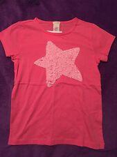 Crewcuts Girls 8 Keepsake Tee Pink Big Sequined Star NWT Free Shipping