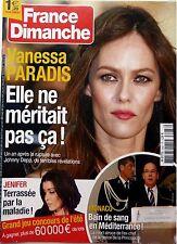 Mag 2013: VANESSA PARADIS_ADIEU JEAN-LOUIS SCHERRER_FANNY ARDANT_INGRID CHAUVIN