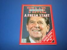 TIME MAGAZINE November 17,1980 REAGAN FRESH START ELECTED high grade NO LABEL