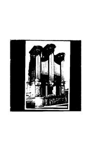 Vintage Postcard Dublin Ireland St. Michan's 1724 Church Organ - unused