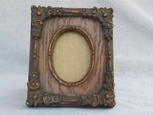 Vintage Unique Wooden Hand Carved Handmade Picture Photo Frame Collectible Art