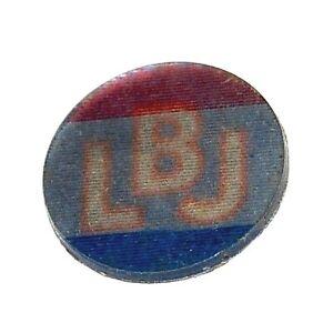 1964 LBJ LYNDON B. JOHNSON FLASHER campaign pin pinback button varivue political