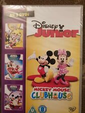 MICKEY MOUSE CLUBHOUSE  DVD SEALED TRIPLE DVD