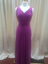 STUNNING HOBBS MAXI DRESS SIZE 12 PINK/ STRETCHY BEAUTIFUL COLOUR