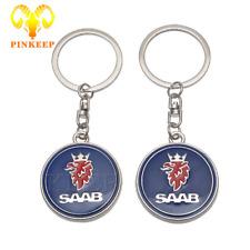 Fashion Key Ring Holder For SAAB Aero X 9-3 9-5 9-7X SCANIA Styling Accessories