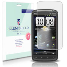 iLLumiShield Matte Screen Protector w Anti-Glare/Print 3x for HTC Sensation 4G