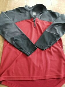 Simms Fishing Products Base Layer Top Medium EUC Fisk SKI Hike Flyfish