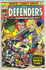 DEFENDERS 26 6.0 NICE PAGES 6.0 6.5 RED COVER GUARDIANS OF THE GALAXY