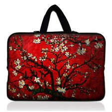 """Flower Netbook Laptop Carry Sleeve Case Bag For 13"""" inch 13.3"""" Macbook Pro / Air"""