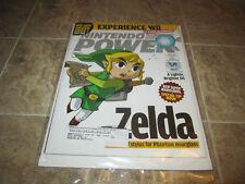 Nintendo Power Magazine Volume 205  - Zelda Phantom Hourglass w/Poster/Ins