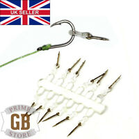Details about  /10 FISHING MED MAGGOT CLIPS X 10 BY MAX PERFORMANCE THE BEST BAIT PRESENTATION