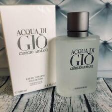 GIORGIO ARMANI Acqua Di Gio Pour Homme 3.4 oz 100 ml Eau De Toilette For Men New