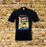 Der Krieg der Welten Sci Fi Film T-Shirt schwarz oder weiß oder rot