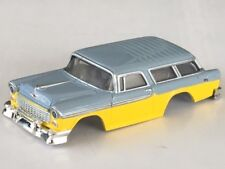 Rare Xtraction 2 Tone 55 Nomad HO Slot Car Body Fits Old Aurora AFX Mag Traction