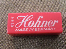 #D279. CASED MINIATURE  HOHNER MOUTH ORGAN #39