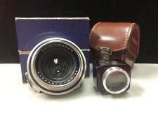 Voigtlander Prominent Skoparon 35mm f/3.5 In Case + Kontur Viewfinder with box