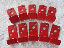 10-SLOT WALL HOOK-BRACKET-HANGER for 2/1/2 GALLON WATER TYPE FIRE  EXTINGUISHERS