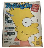 Rolling Stone Magazine June 28 1990 #581 BART SIMPSON Cover~Jon Bon Jovi