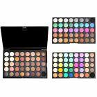 120 Colors Pro Shimmer Matte Eyeshadow Palette Powder Eye Shadow Makeup Kit Set