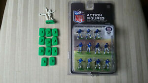 Tudor Games NFL Electric Football New York Giants w/ Single Clip Bases & TTQB