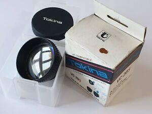 Tokina VC-20S 2.0x Camcorder Teleconversion Lens AF Compatible +37/27mm Adapter