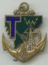 Insigne transmissions, 72 Cie. Coloniale de Transmissions