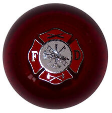 Clear Red Firefighter shift knob M10x1.50 th