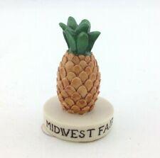 Sebastian Miniature Sml-746 Midwest Fair Medallion Pineapple