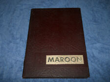 1968 Madisonville North Hopkins High School Yearbook Maroons Kentucky Annual