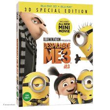 Despicable Me 3 ( 2 Disc : 3D + 2D Blu-ray ) / Region A