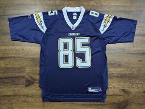 Reebok San Diego Chargers Antonio Gates Jersey Size Large