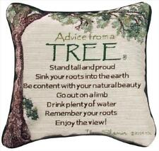 Advice From A Tree ~ True Nature Tapestry Toss Pillow