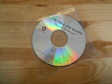 CD Pop Viktor & The Blood - Boys Are In The City (1 Song) Promo WARNER disc only