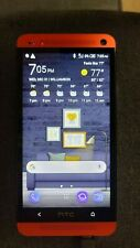 HTC One M7 - 32GB - in the rare RED color