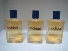 Adidas ***Lot of 3*** Aftershave Splash 0.85/25 ml Unboxed