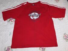 Starter Mens Medium England Football Soccer St. James Tournament Red T-Shirt