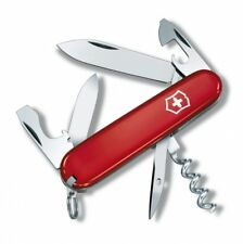 0.3603 VICTORINOX TOURIST RED SWISS ARMY POCKET KNIFE 12 TOOLS 53131 NEW z