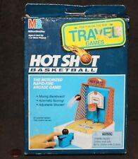 c1992 Milton Bradley Travel Game: HOT SHOT BASKETBALL Arcade Game