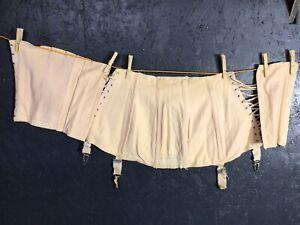 Vintage Ladies Corset Garter Suspender Belt, Boned.