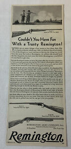 1930 REMINGTON ad~Model 6 and 26 ~ COULDN'T YOU HAVE FUN