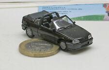 Herpa  02058: Opel Kadett E   Gsi    Cabriolet,  schwarz