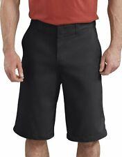 "Dickies Men's WR660 13"" Flex Active Waist Flat Front Stretch Twill Shorts"