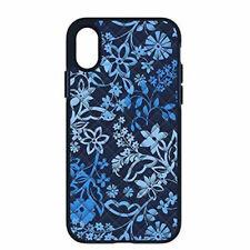 Vera Bradley Quilted Case for iPhone XS & X - Navy Blue / Flower Design