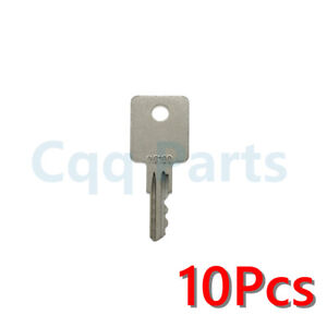10pcs NG100 Key Fits Grove Vermeer Cushman Huber Broderson BartMill Lull Terex