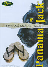 "Panama Jack ""Beautiful Barbaric Sandals"" Shoes 2004 Magazine Advert #2505"